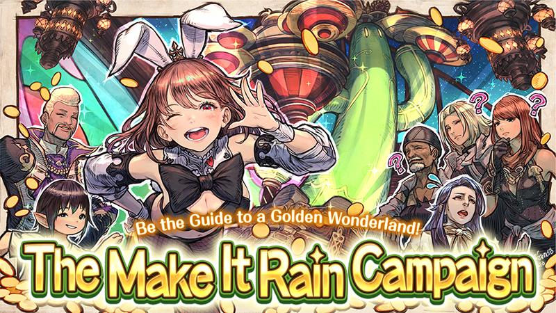 The Make it Rain Campaign has Returned!