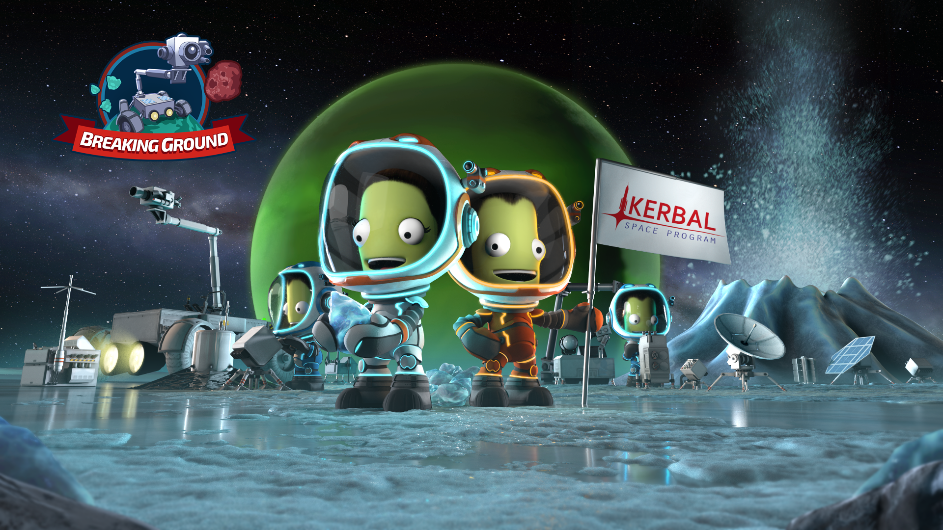 Kerbal Space Program: Breaking Ground Expansion is Now Available!