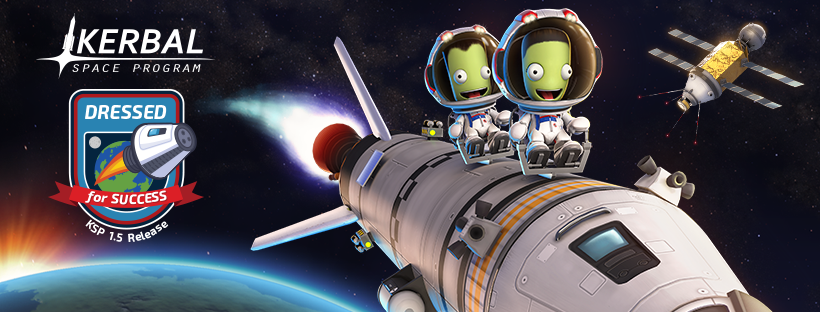 "Oct 15, 2018 Kerbal Space Program 1 5: ""Dressed for Success"