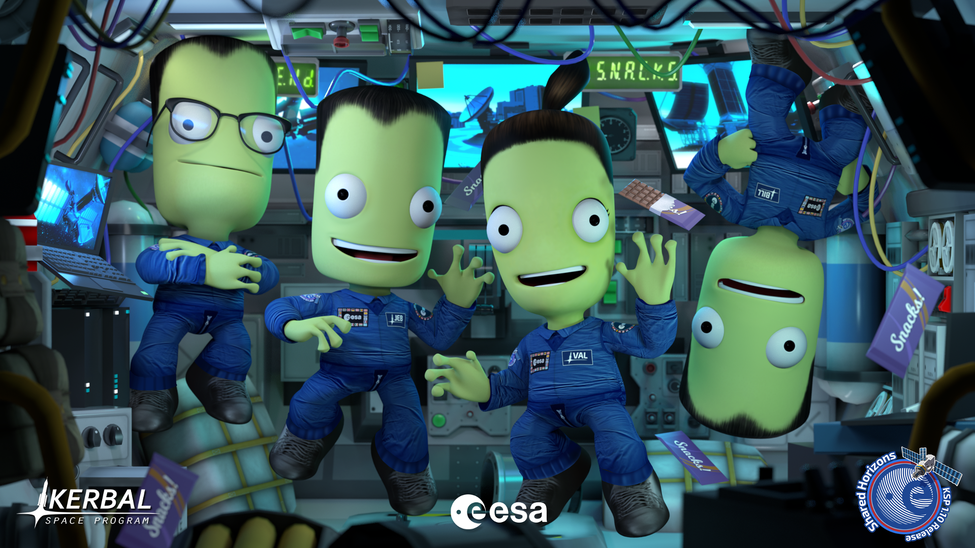 """Kerbal Space Program 1.10: """"Shared Horizons"""" is now available!"""