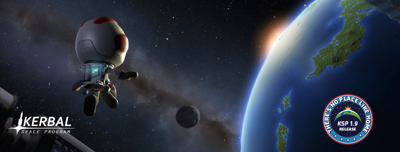 """Kerbal Space Program 1.9: """"There's No Place Like Home"""" is now available!"""