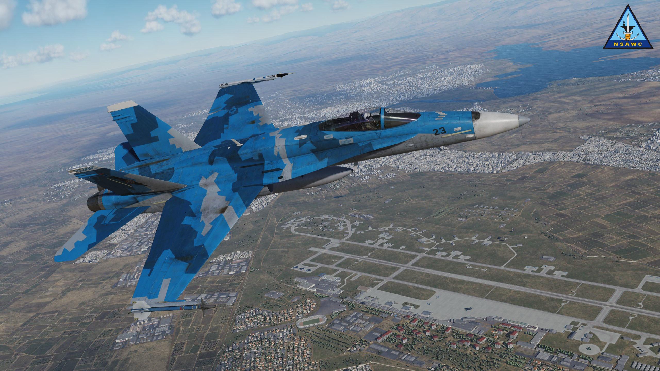 Jan 17 DCS: F/A-18C Hornet - Bomb Fuze Settings DCS