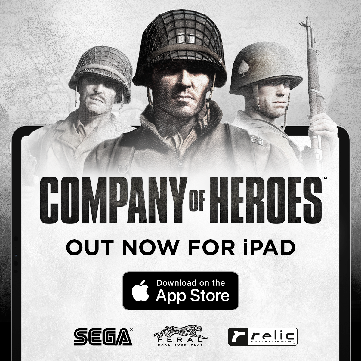 Company of Heroes - Out now for iPad