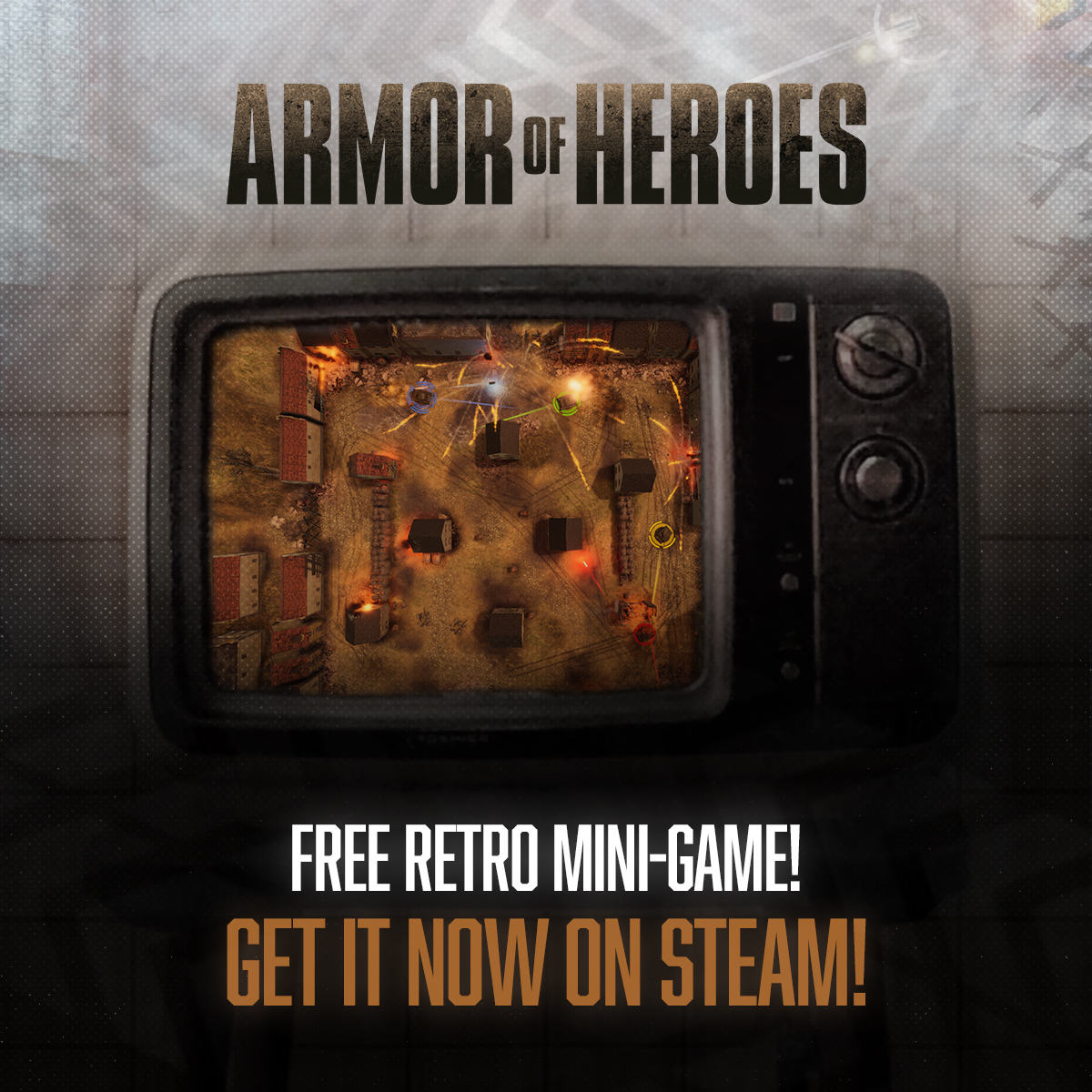 Don't miss the SEGA 60th Anniversary Sale! Free Armor of Heroes Mini Game!