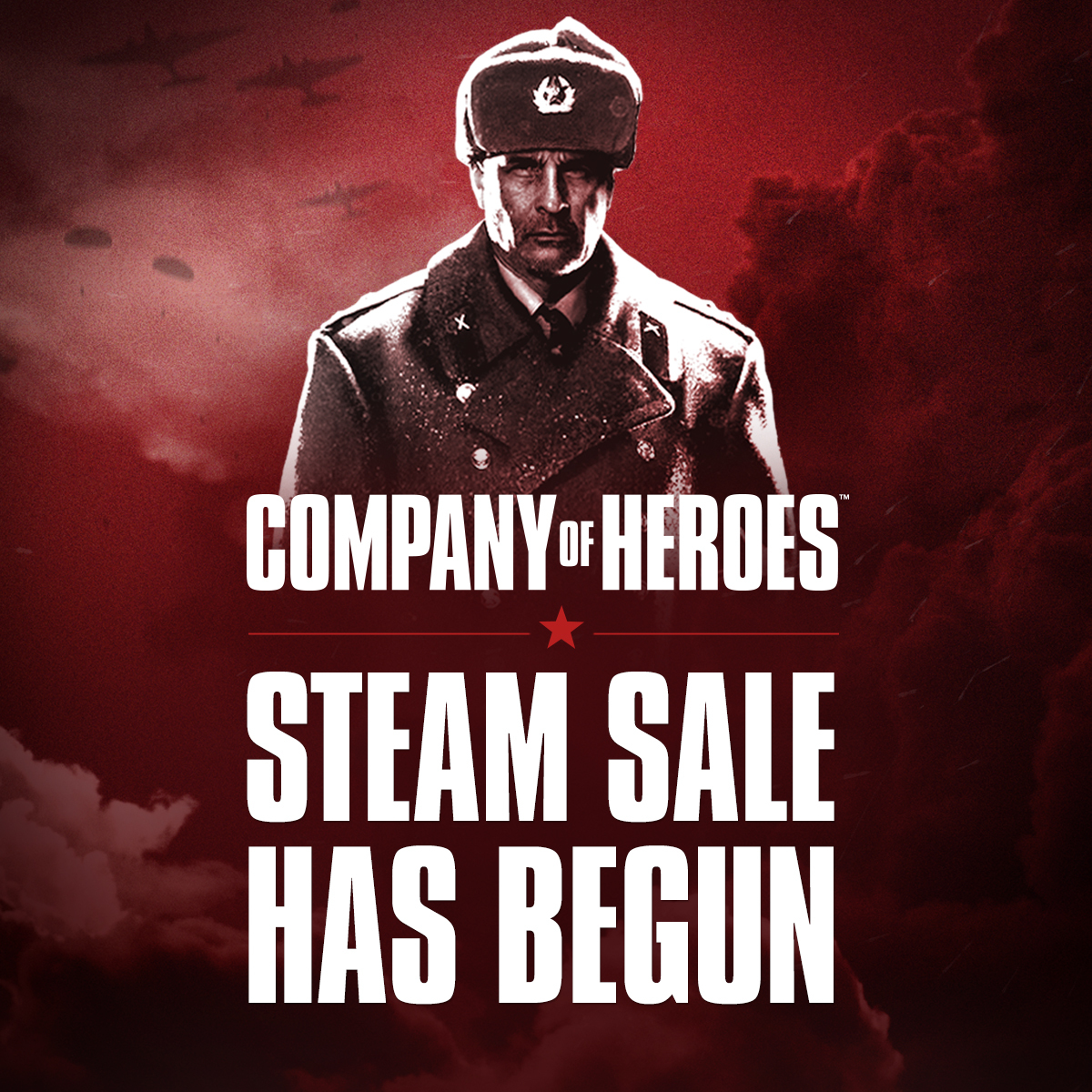 Company of Heroes Franchise Steam Sale Now Live!