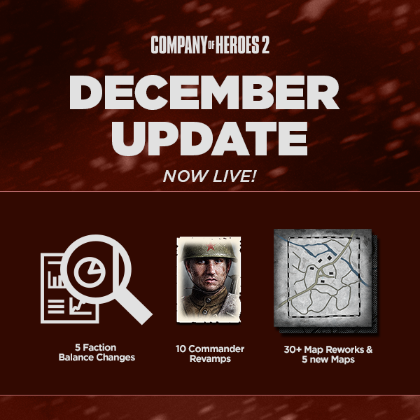 "COH2's December ""Community"" Update"