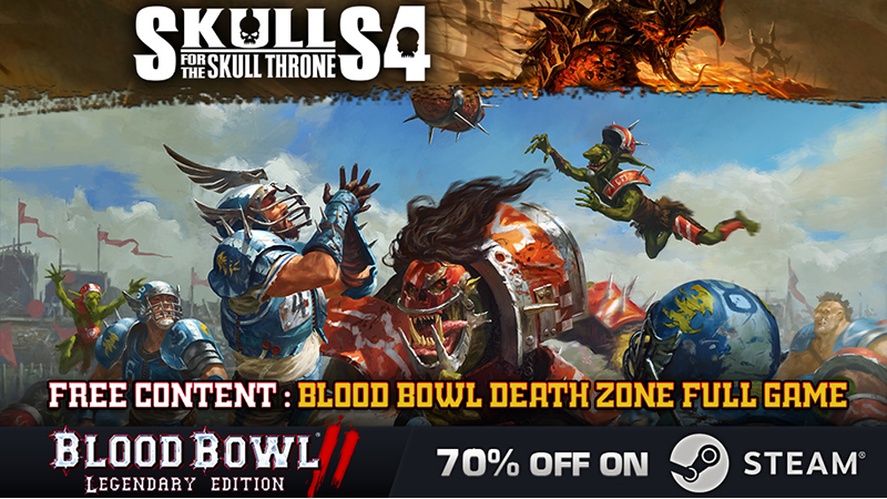 Skulls for the Skull Throne Steam Sale