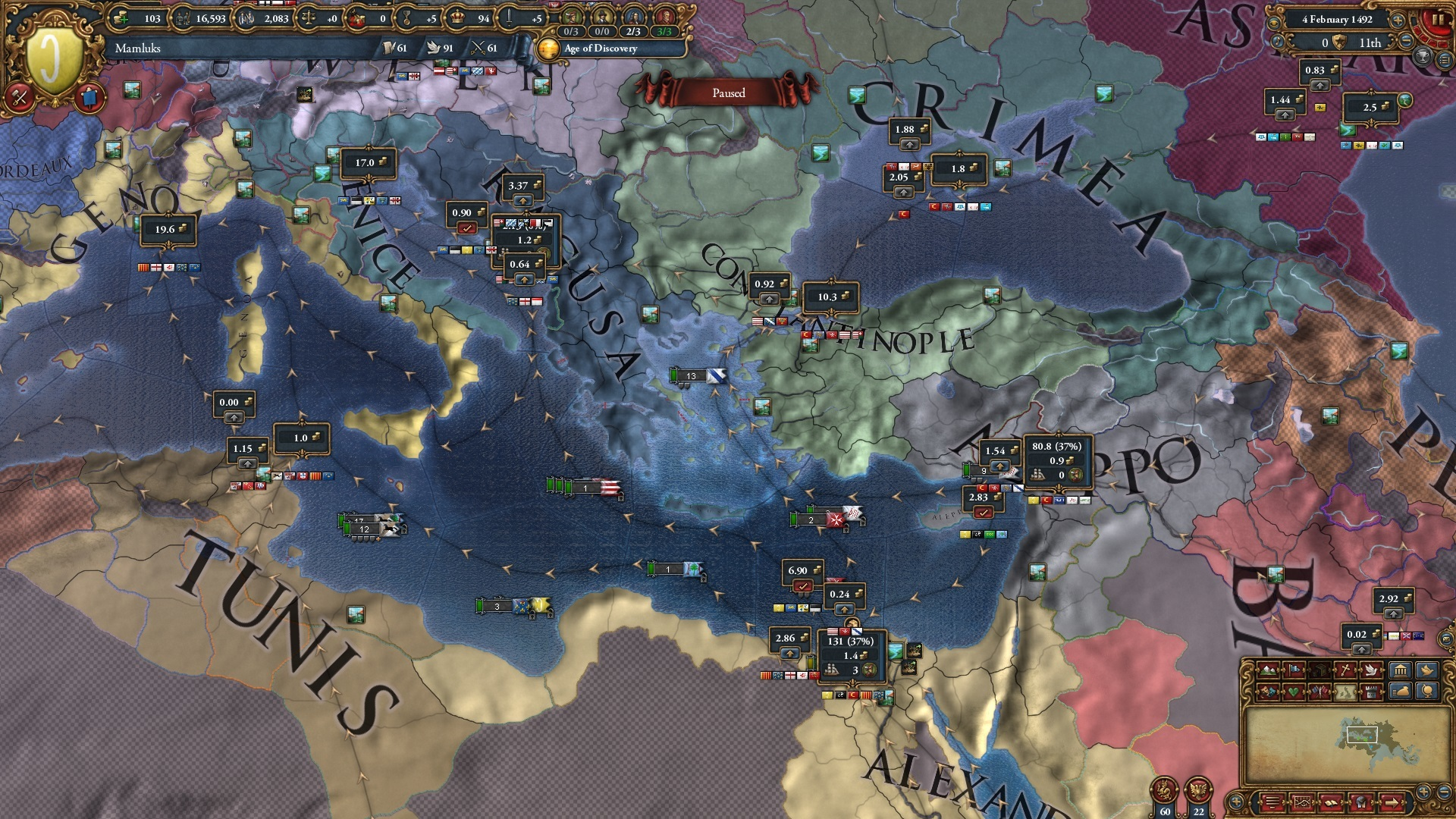 Europa Universalis IV :: Trade Steering, Naval Doctrines and