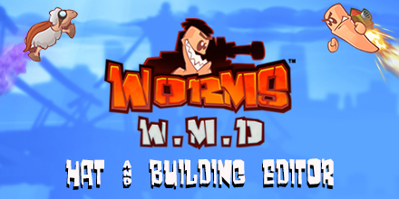 worms clan wars worms w m d free hat building editor update