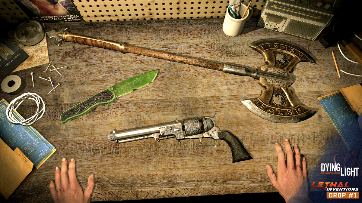 dying light the following guns