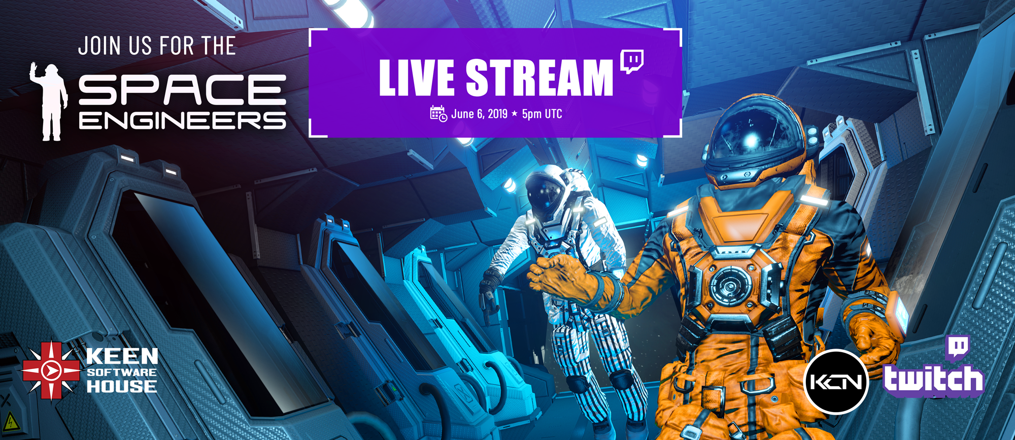 Space Engineers :: Only One More Day Until the Livestream!