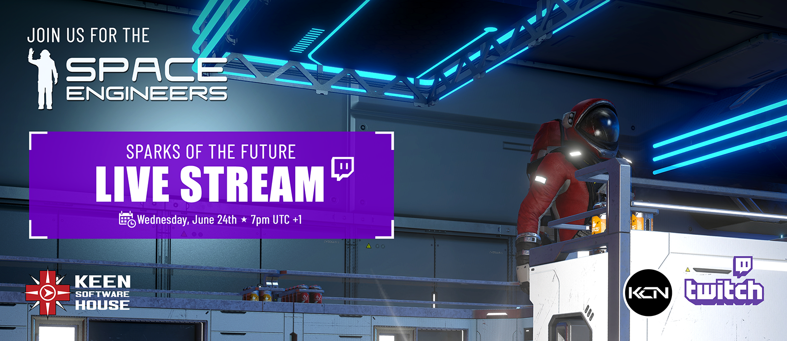 """""""Sparks of the Future"""" Live Stream!"""