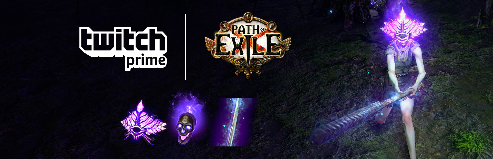 Path of Exile :: Get the Purple Divine Sign, Purple Skull