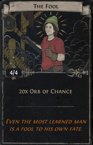 Divination Card Stories - The Fool