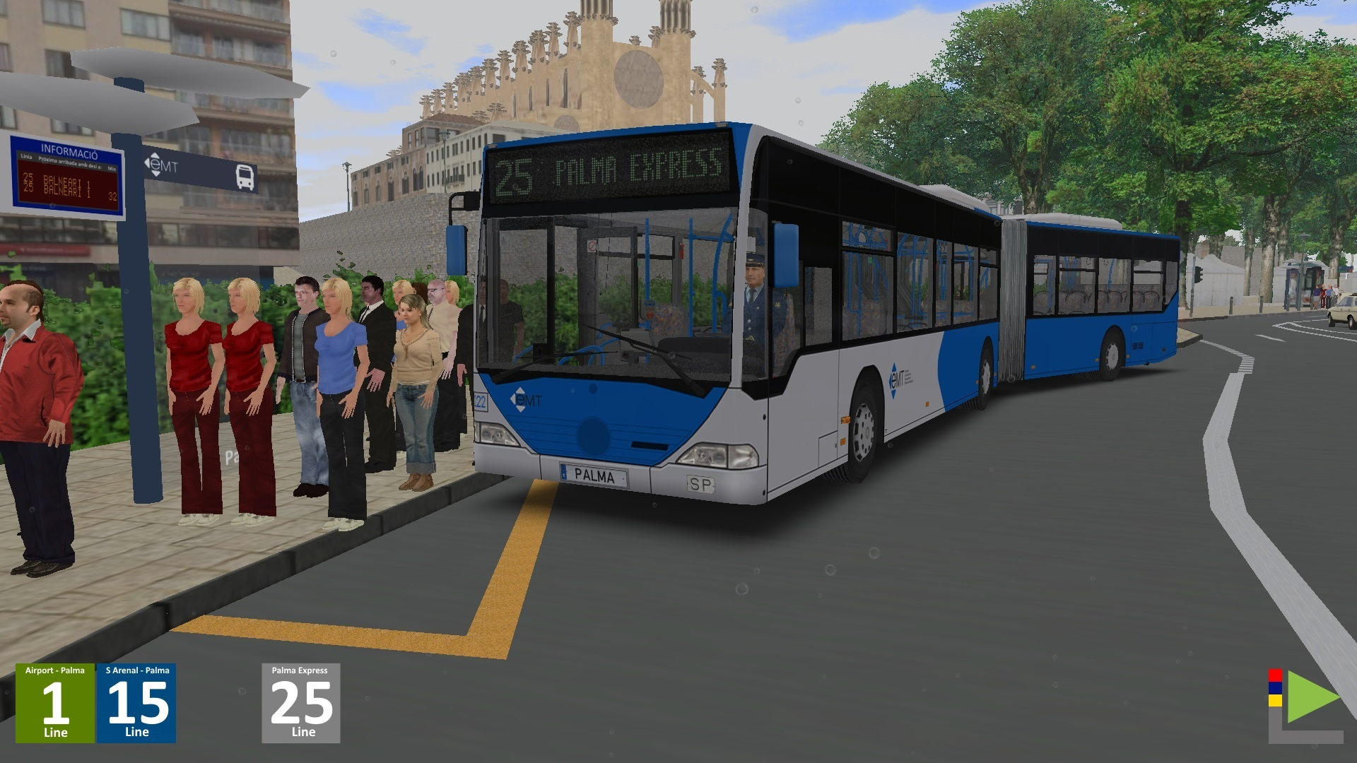 Articulated Bus Conversion