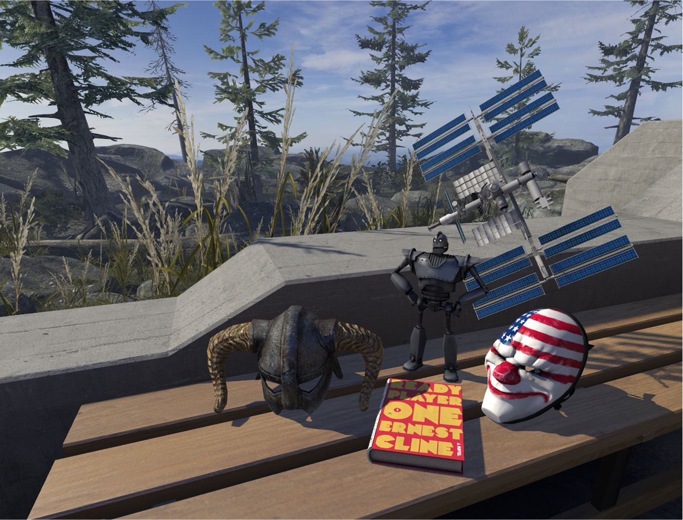 SteamVR :: SteamVR Home: New Collectibles