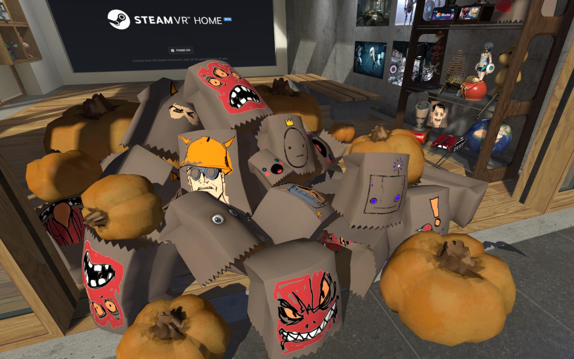SteamVR :: SteamVR Home: Halloween Update