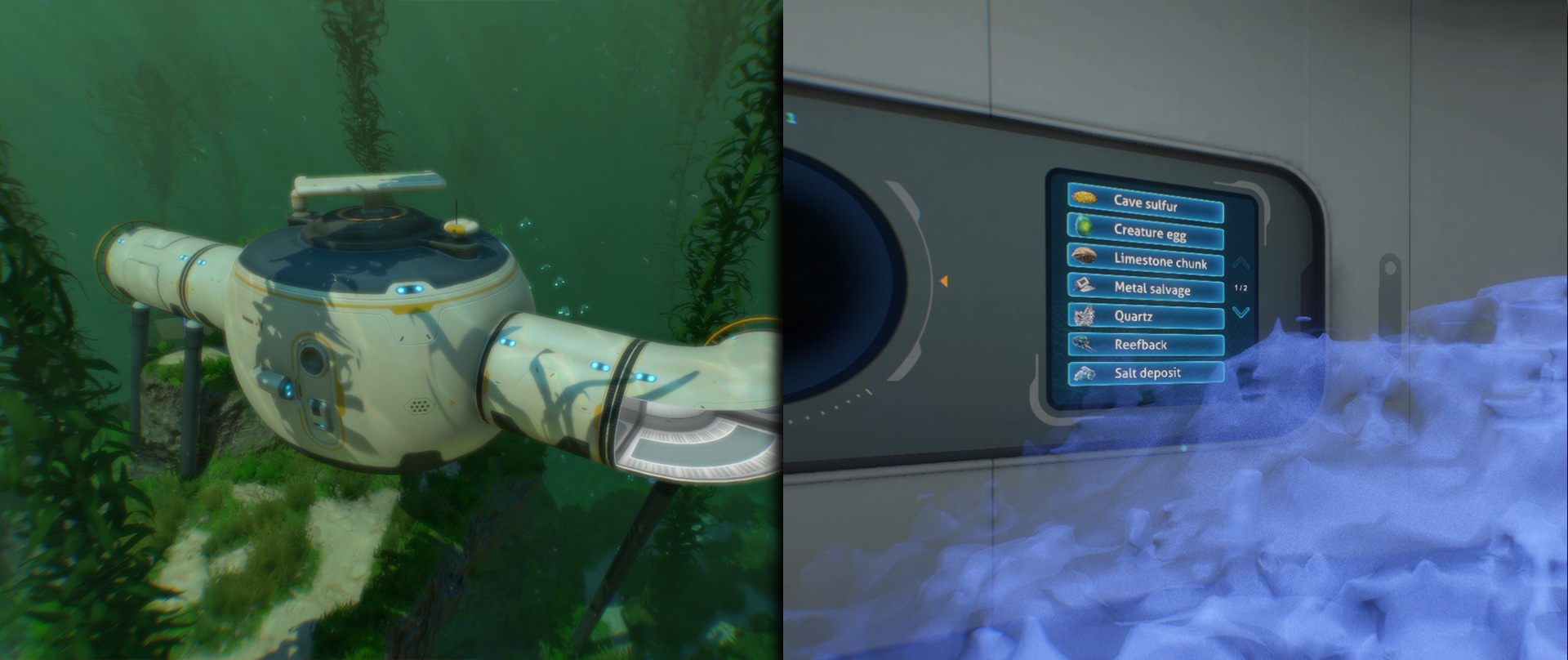 Eye Candy Update Subnautica Then the scanner will list everything in the area. arc games
