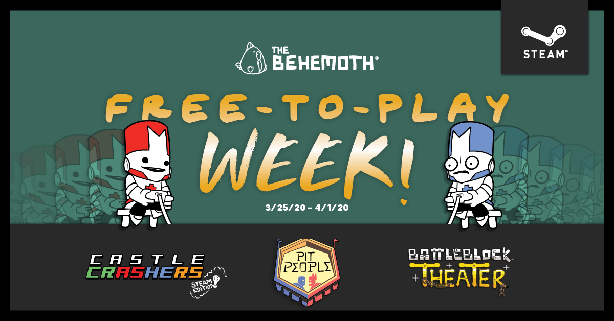 The Behemoth's Free-to-Play Week on Steam