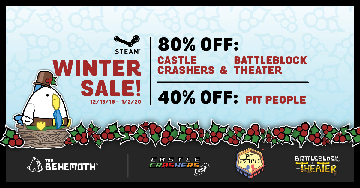 The Steam Winter Sale is on now! ❄️