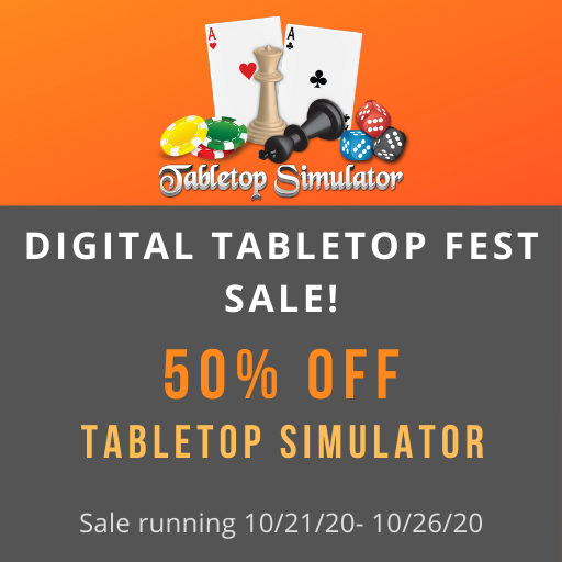 Digital Tabletop Fest Sale!