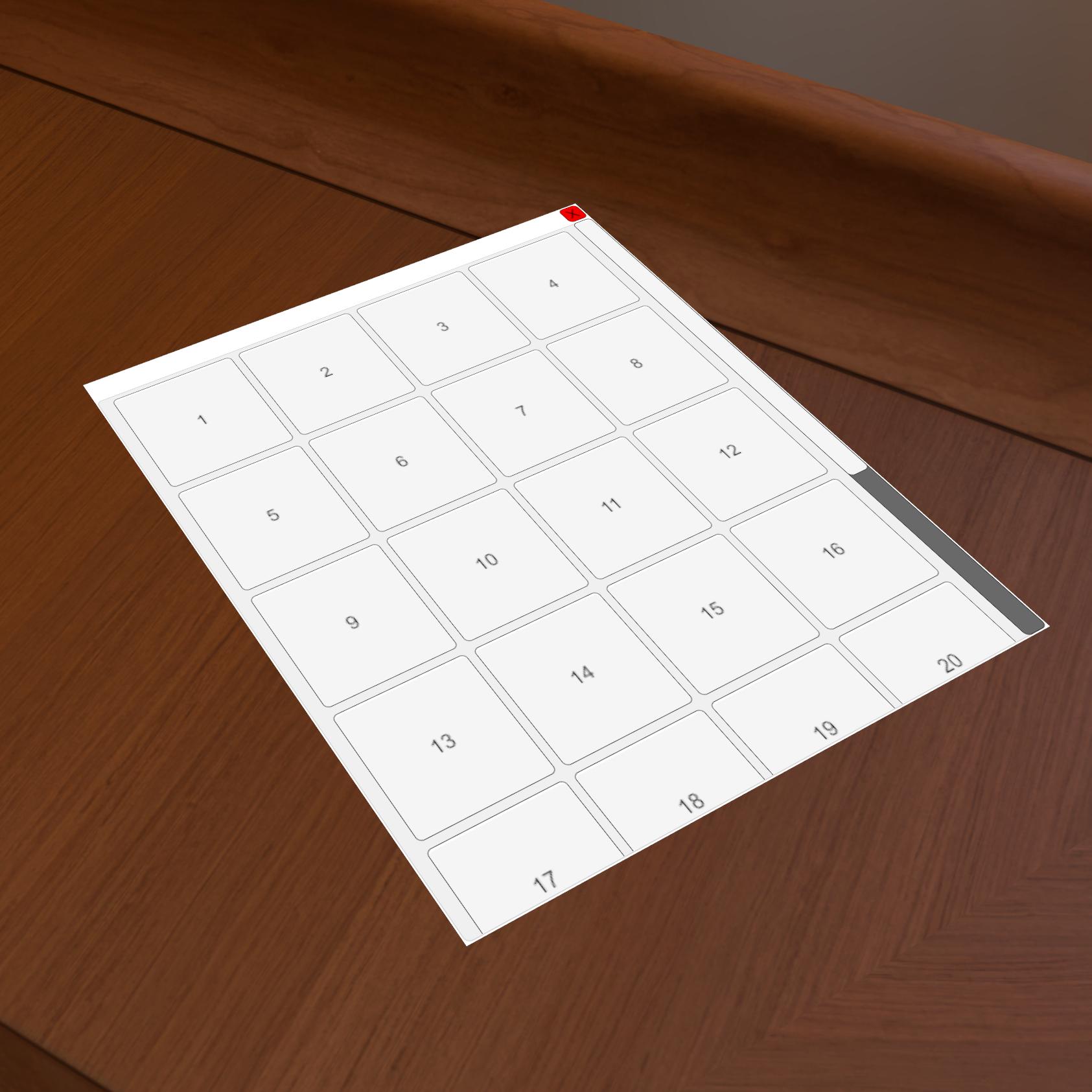 Tabletop Simulator :: Update v10 6 Custom 3D UI, VR improvements