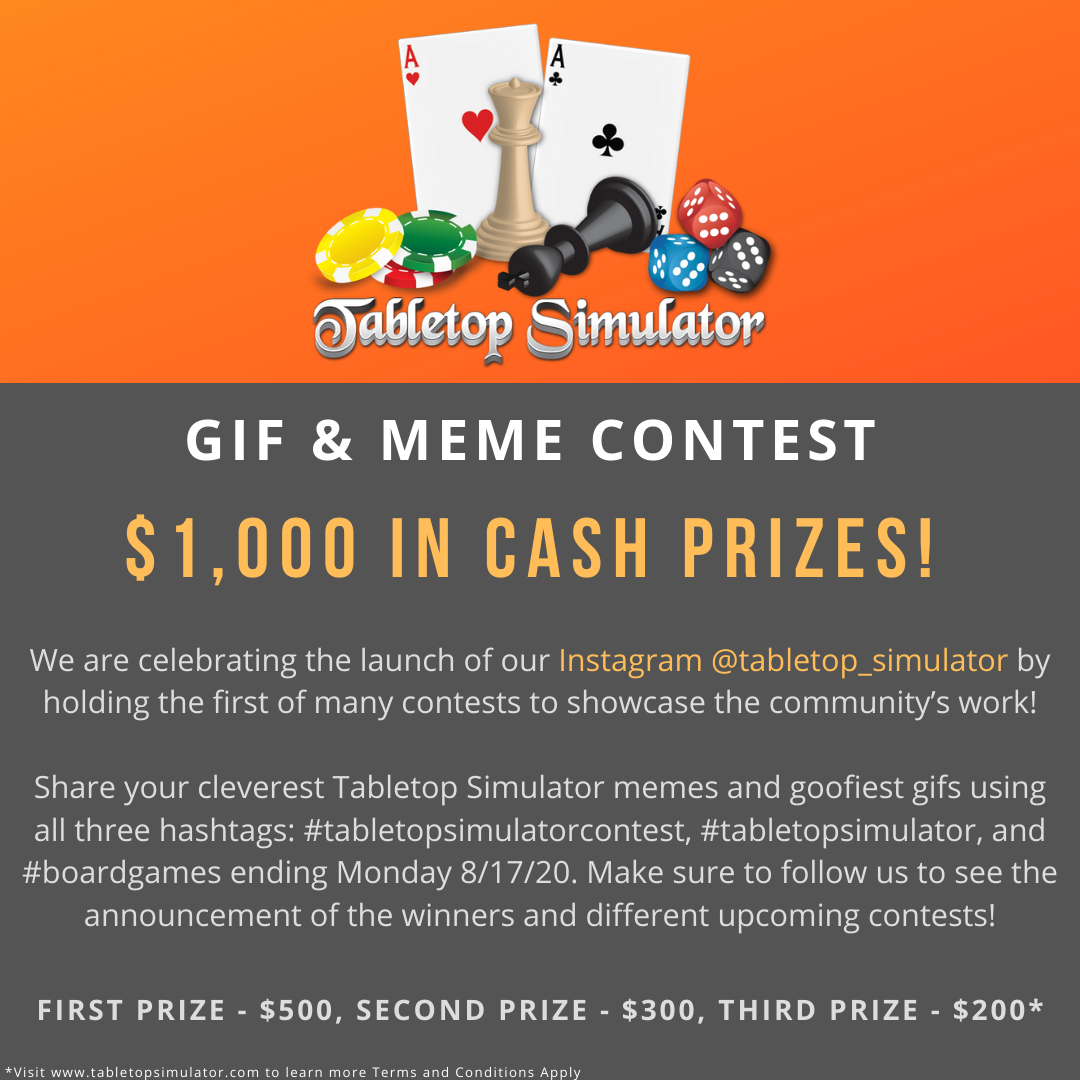 $1,000 GIF and Meme Contest!