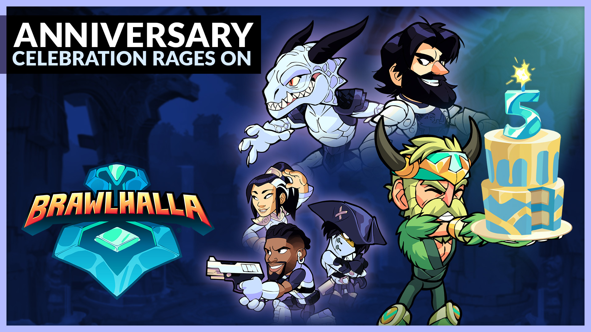Celebrate Five Years of Brawlhalla!
