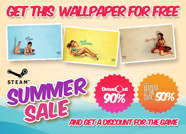 Summer Sale Is Back Enjoy DreadOut 90 OFF And Keepers Of The Dark 50 Also Exclusive For All You Pin Up Series Wallpaper