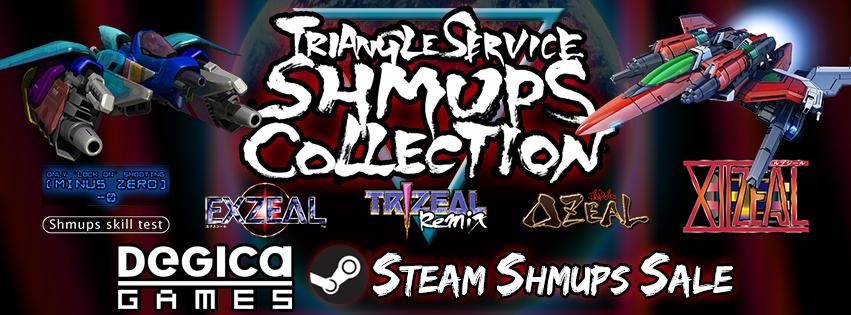 Steam Shmups Sale, Two Triangle Service Bundles, and an ESCHATOS Contest!