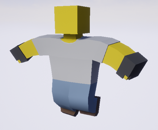 game meshes for gloves and brown work shoes