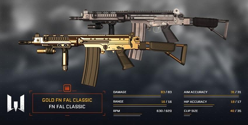 Warface :: FN FAL DSA-58 is back in store