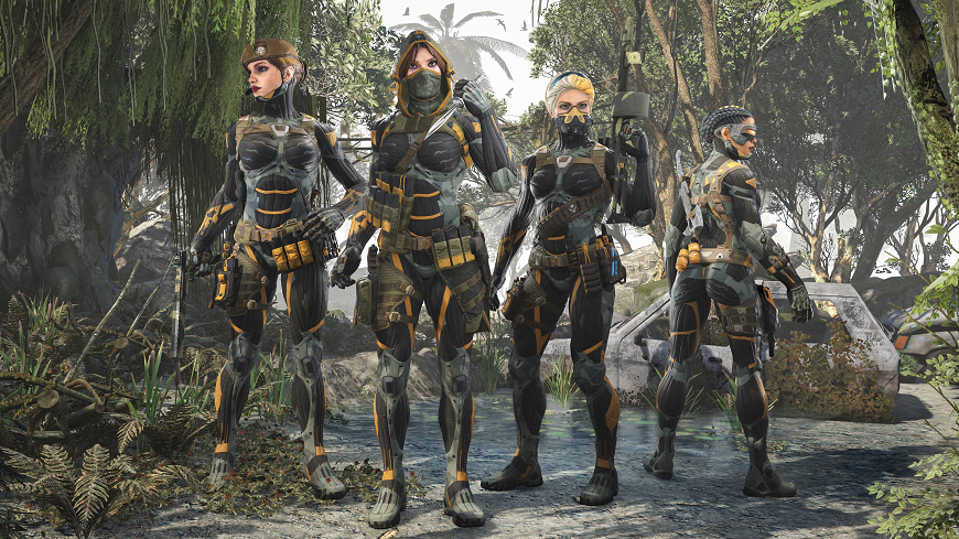 New in shop -- Crysis and Tournament nano-suit skinpacks! - Warface