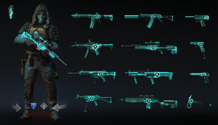 "Nov 22, 2017 Preview: ""Absolute"" weapon set Warface - st_vi Soldiers"