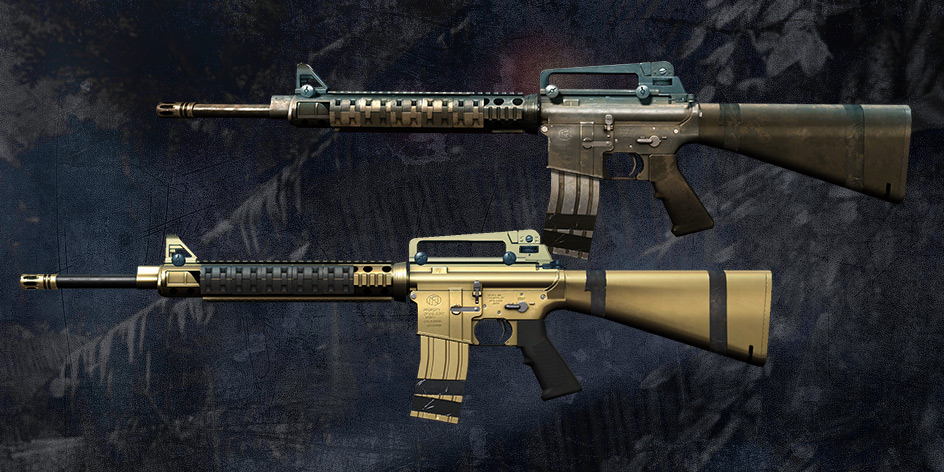 M16A3 and CZ 75 Czechmate Parrot in store - Warface