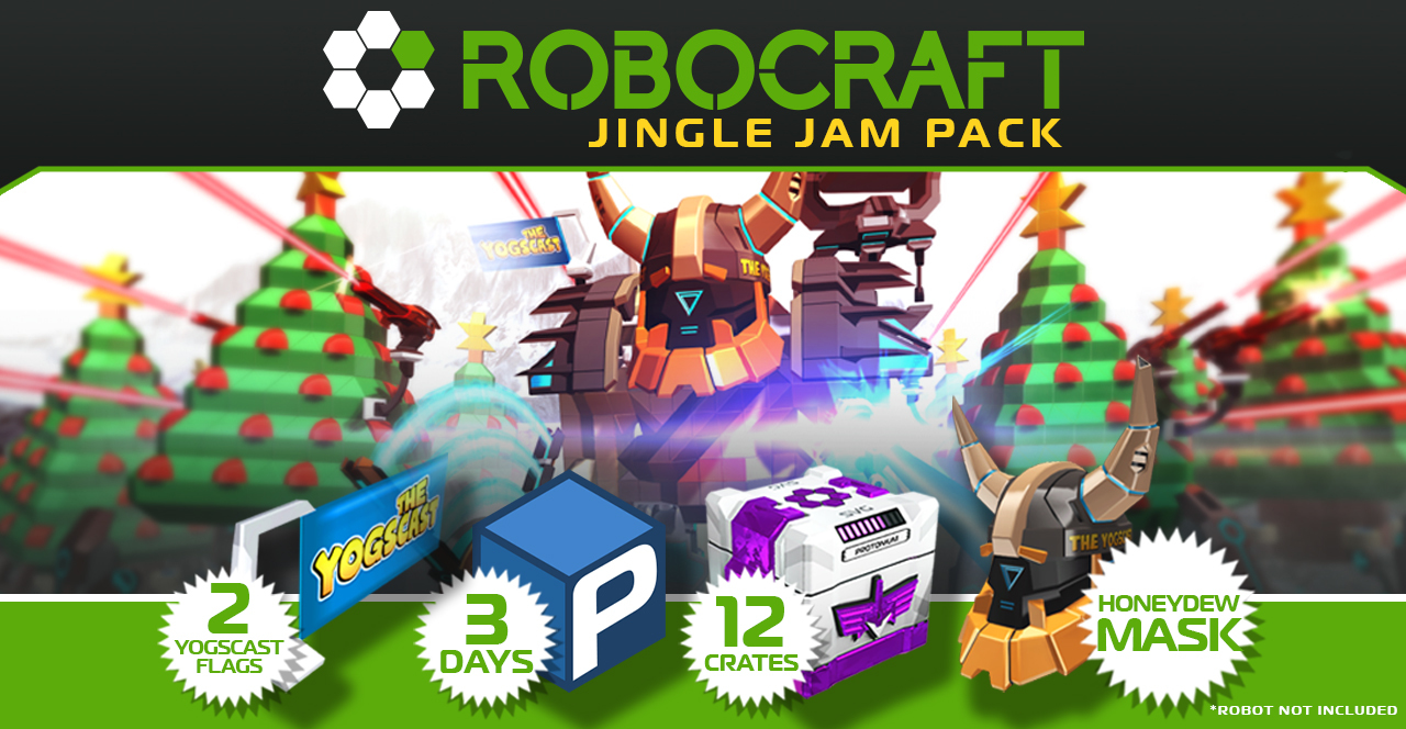Robocraft :: Support Charity with the Yogscast Jingle Jam Pack