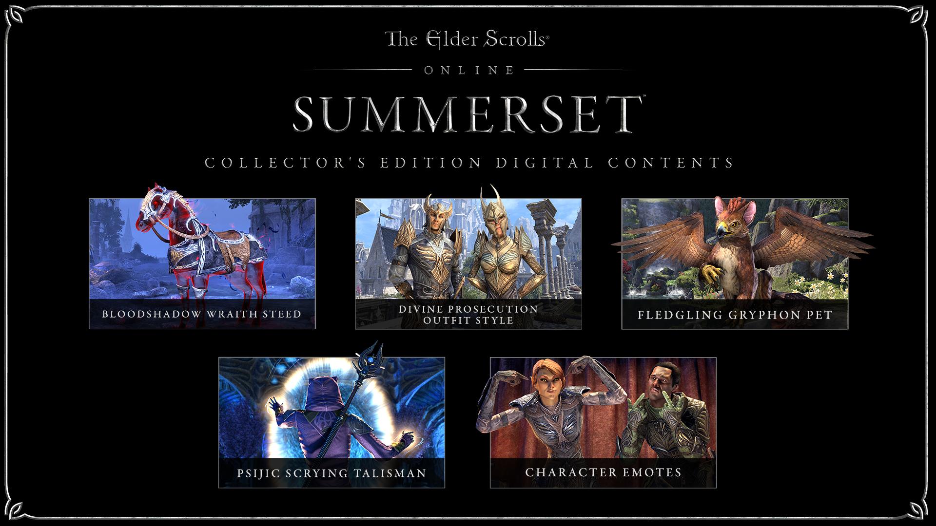 The Elder Scrolls Online :: ESO: Summerset Editions & Pre-Purchase