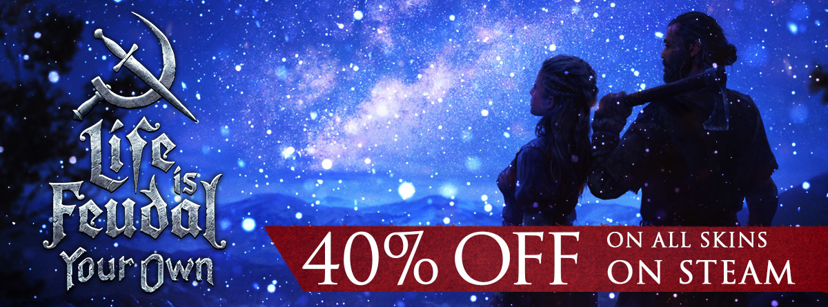 Happy Holidays! 40% off on all Skins. Only available on Steam!