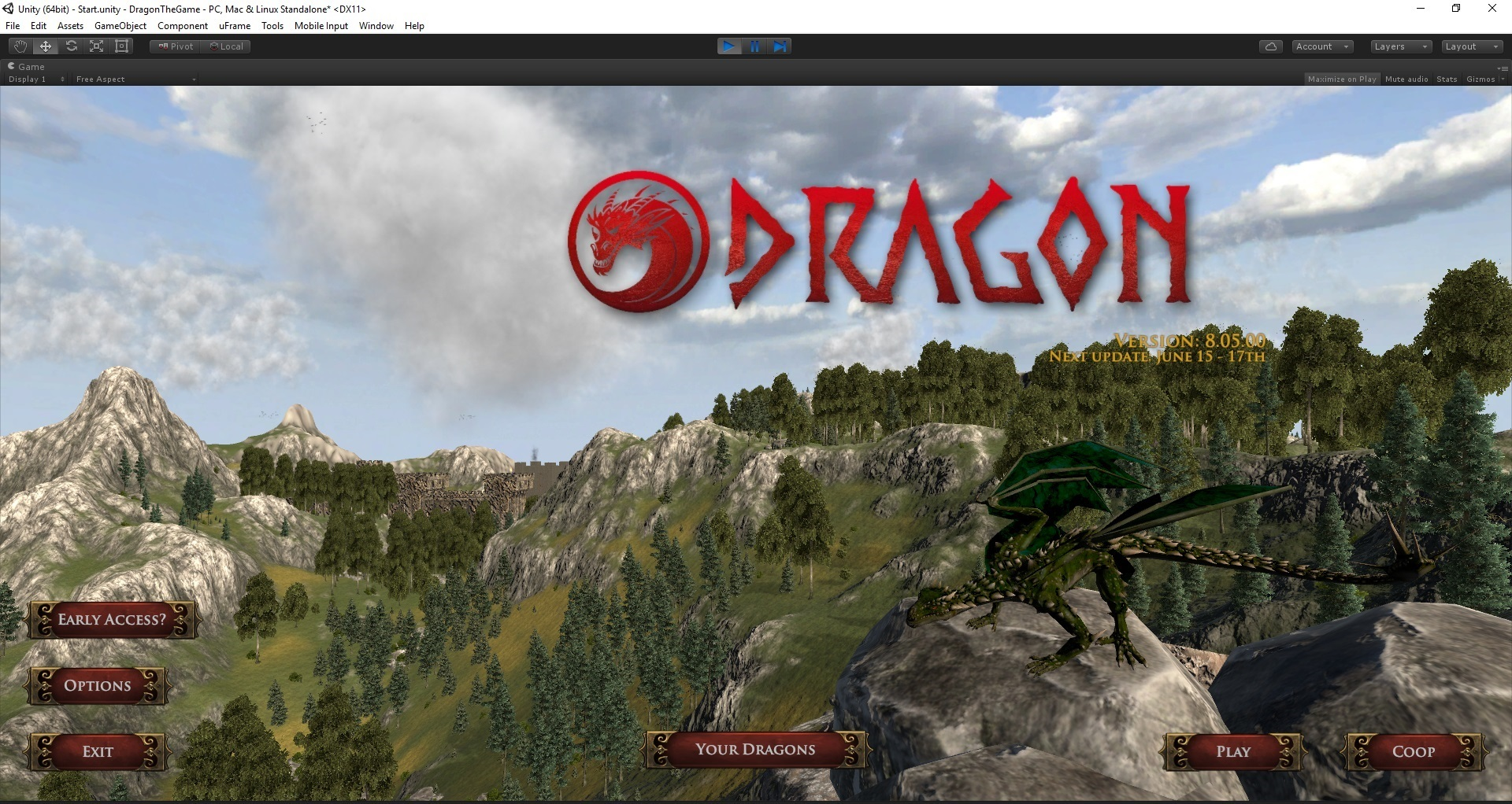 Dragon the game november update option 3 transition to world map and zones little game play ready this is where the game is headed but there is admittedly not much to do gumiabroncs Gallery
