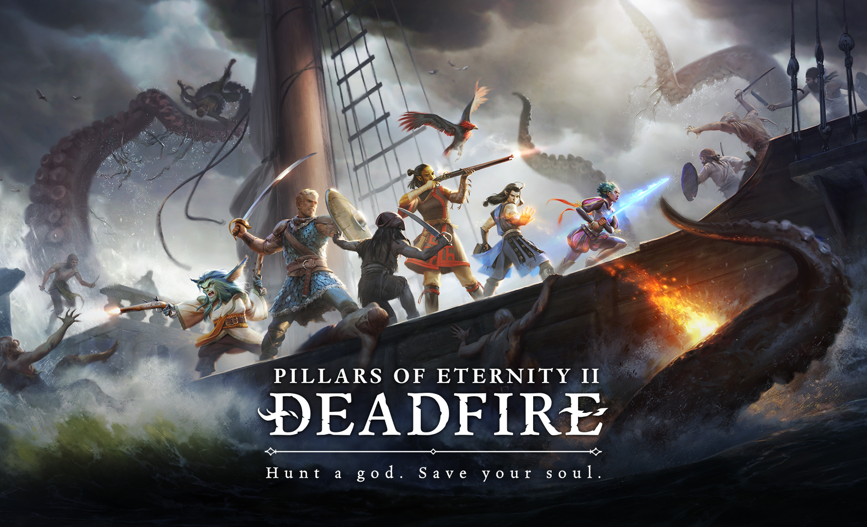 Pillars of Eternity RPG games for PC 2018
