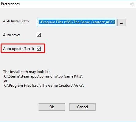 AppGameKit :: AppGameKit - Visual Editor Update