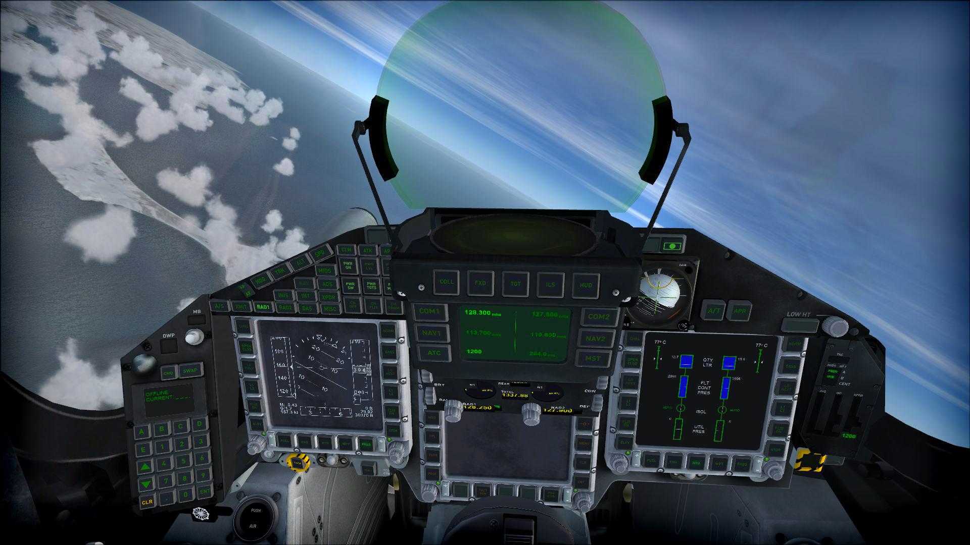 Microsoft Flight Simulator X: Steam Edition :: Eurofighter