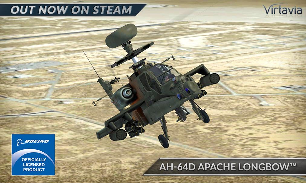 Microsoft Flight Simulator X: Steam Edition :: AH-64D Apache