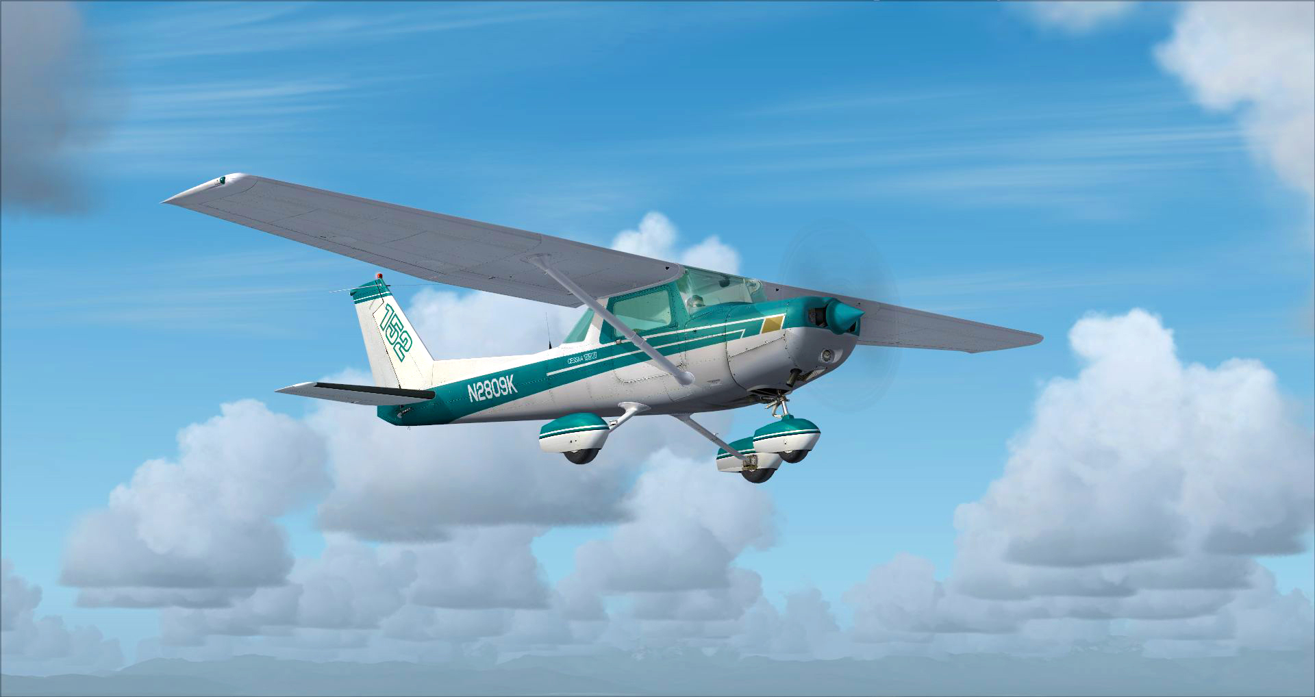 Microsoft Flight Simulator X: Steam Edition :: Cessna C152 II out