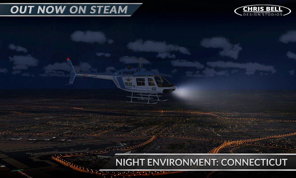 Nov 2, 2016 Night Environment: Connecticut out now for FSX