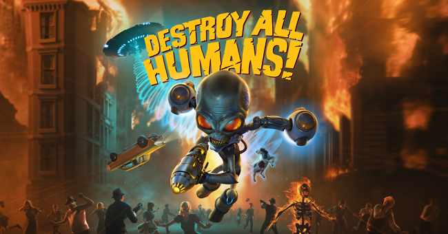 Destroy All Humans! on Steam