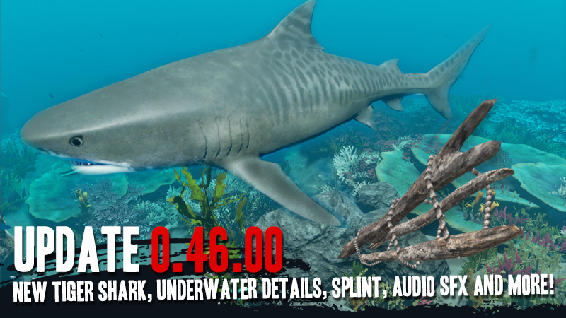Stranded Deep :: 0 46 00 STABLE BUILD! NEW TIGER SHARK