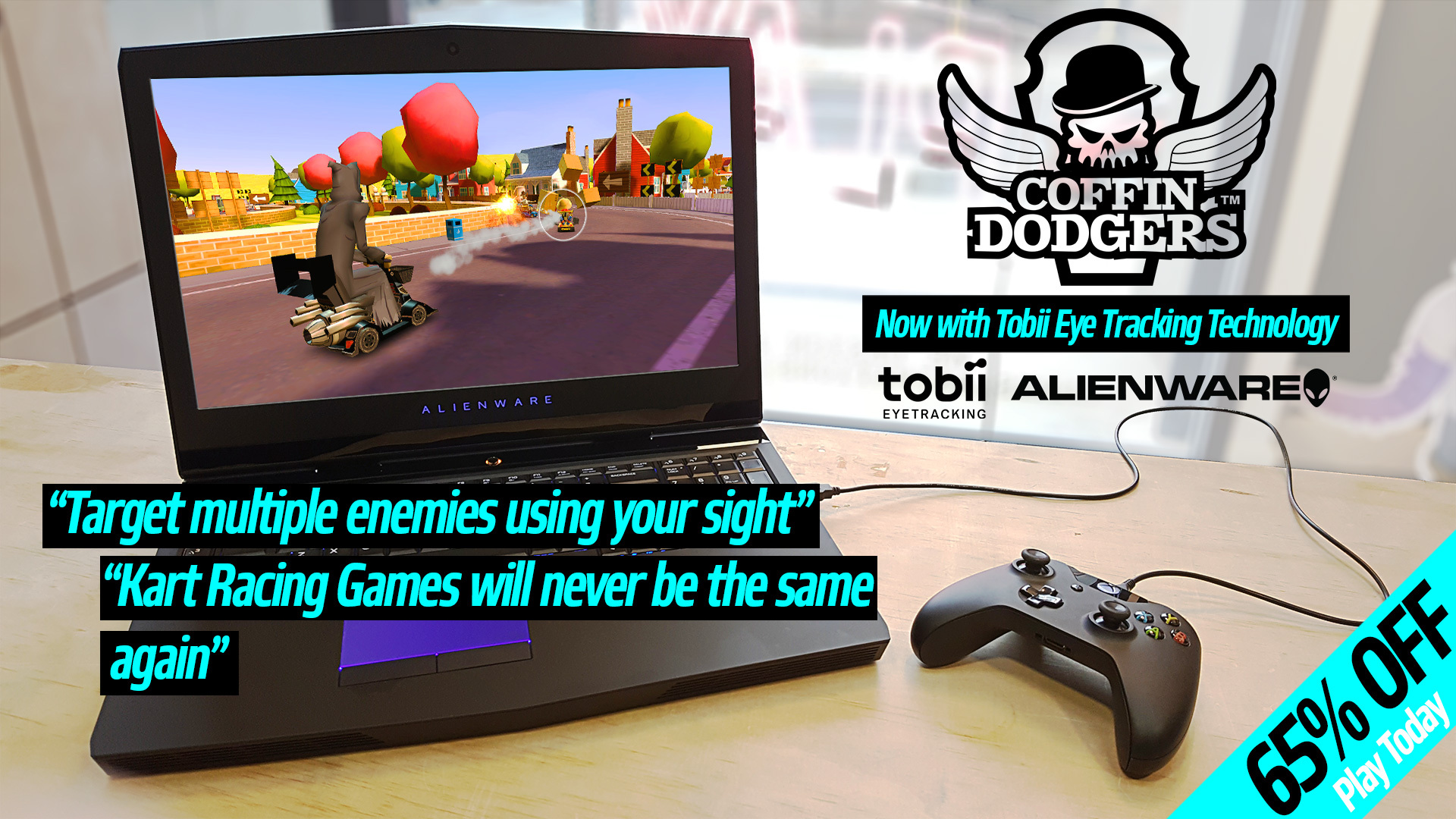 Coffin Dodgers :: We've integrated Tobii Eye tracking