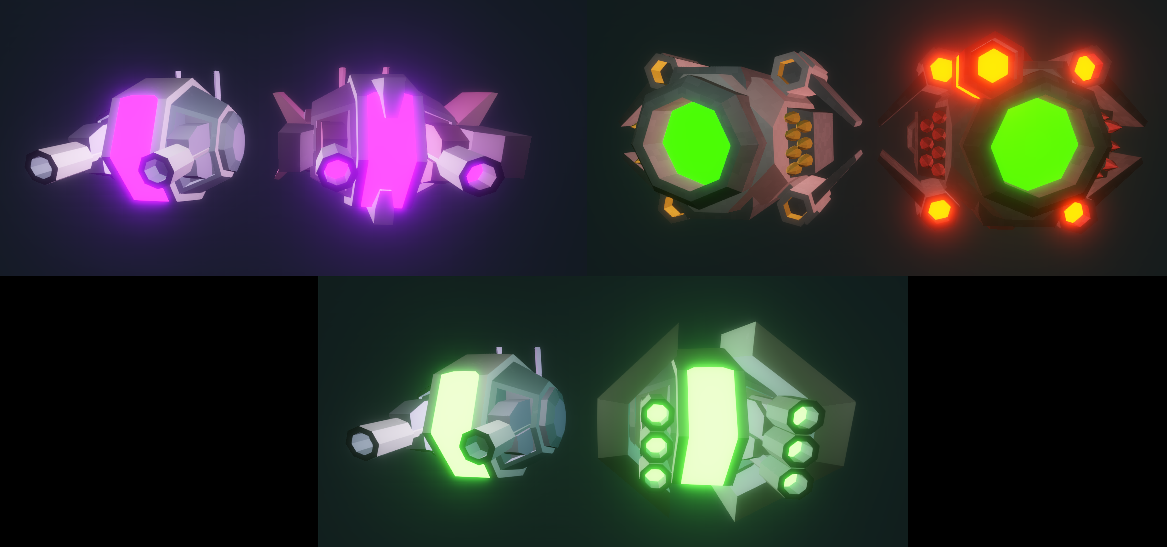 Hull Inventory E Increased Slightly Better Controller On Prompts Updated Player Ship Model Orb Grunt Shotgrunt And Homing Defender