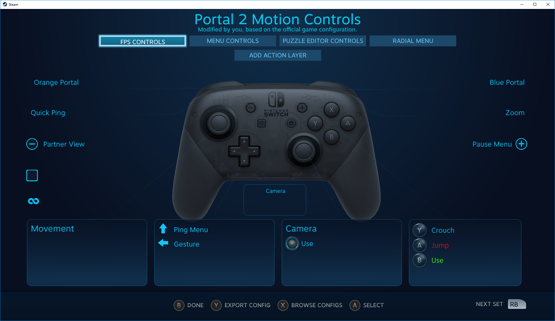 Steam adds Nintendo Switch Pro to controller options